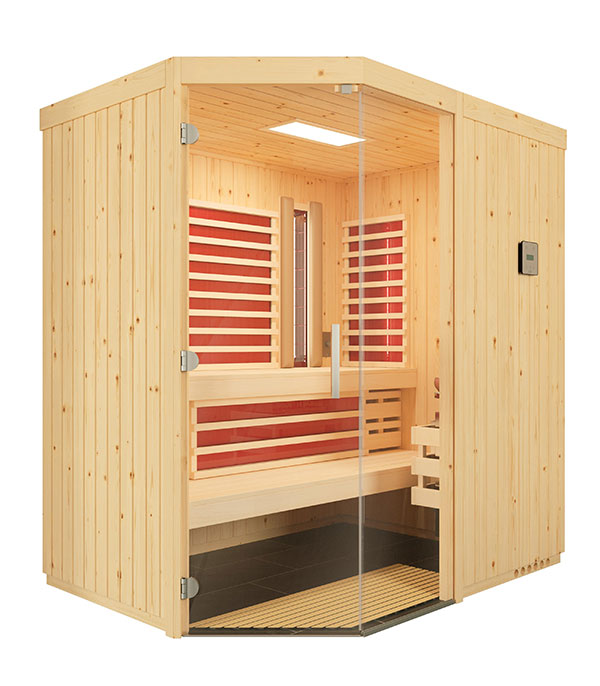 Sauna Optima mit Sole-Therme