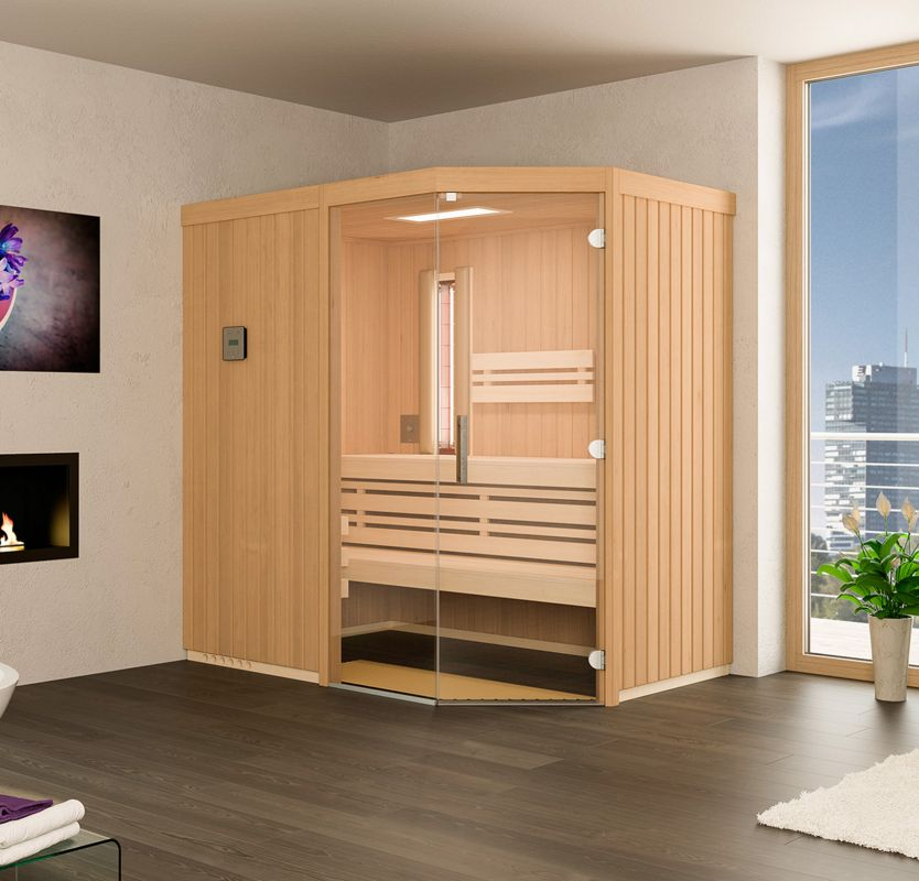 sauna optima. Black Bedroom Furniture Sets. Home Design Ideas